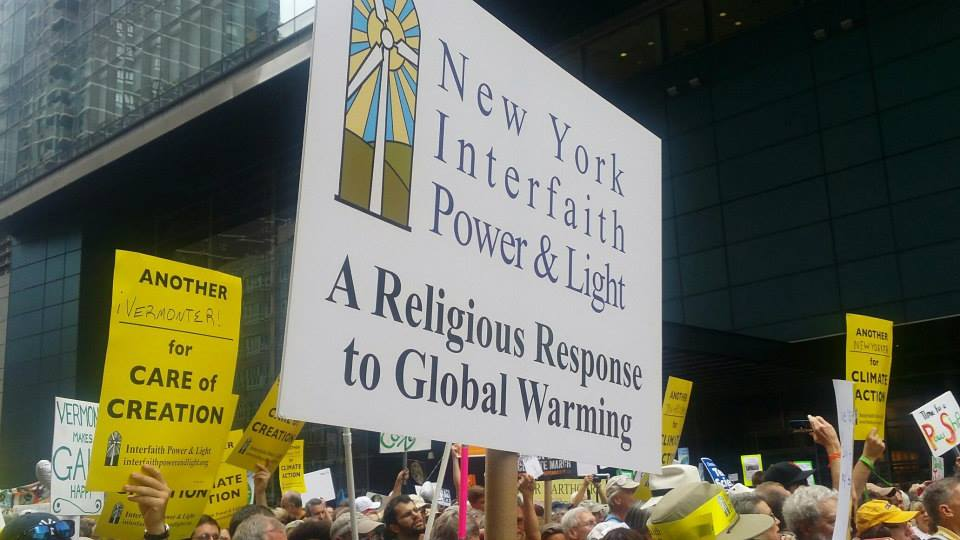 NYIPL at People's Climate March